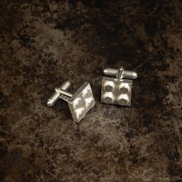 BootLego Silver Cuff Links
