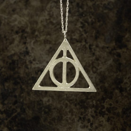 Deathly Hallows Silver Pendant