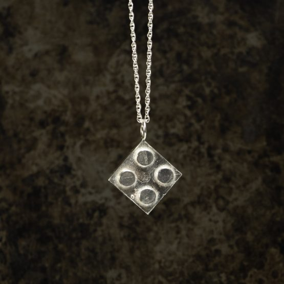 BootLego Sterling Silver Pendant